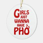 Los chicas apenas quieren tener Phở