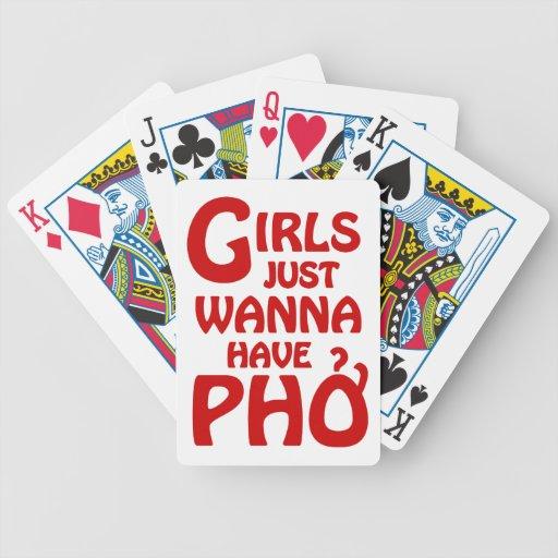 Los chicas apenas quieren tener Phở Baraja