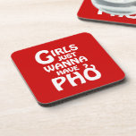 Los chicas apenas quieren tener Phở Posavasos
