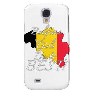 ¡Los chicas belgas lo hacen mejor! Funda Para Galaxy S4