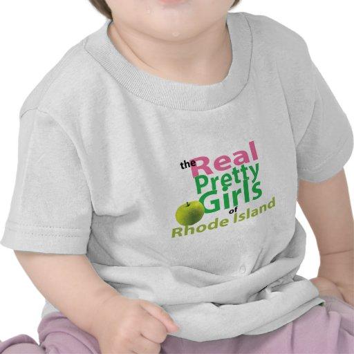 Los chicas bonitos reales de Rhode Island Camisetas