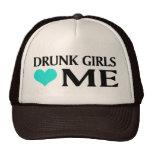 Los chicas borrachos me aman gorras