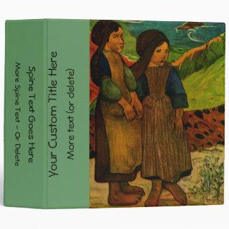 """Los chicas bretones de Paul Gauguin (1889) Carpeta 2"""""""