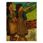 Los chicas bretones de Paul Gauguin (1889) Anuncios Personalizados