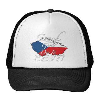 ¡Los chicas checos lo hacen mejor! Gorras De Camionero
