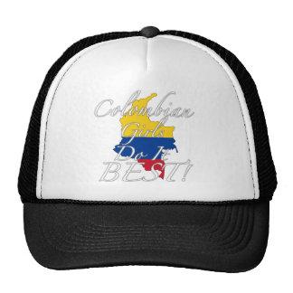 ¡Los chicas colombianos lo hacen mejor! Gorra