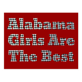 Los chicas de Alabama son el mejor Postal