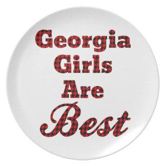 Los chicas de Georgia son los mejores Platos Para Fiestas