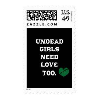 Los chicas de los Undead necesitan amor también Sello