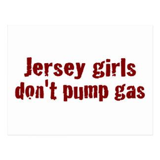 Los chicas del jersey no bombean el gas (nuevo) postal