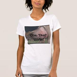 ¡Los chicas del pezón! Camisas