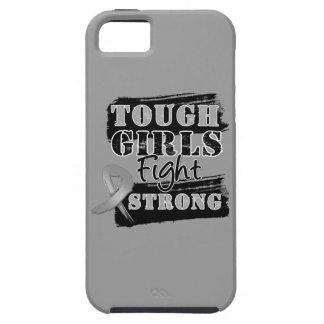 Los chicas duros del cáncer de cerebro luchan funda para iPhone 5 tough