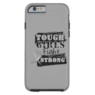 Los chicas duros del cáncer de cerebro luchan funda de iPhone 6 tough