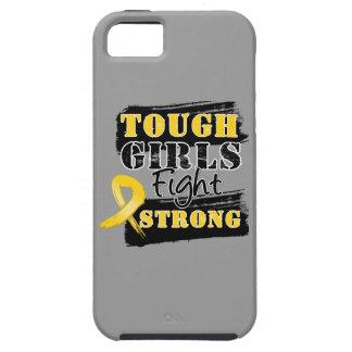 Los chicas duros del cáncer de la niñez luchan iPhone 5 carcasas
