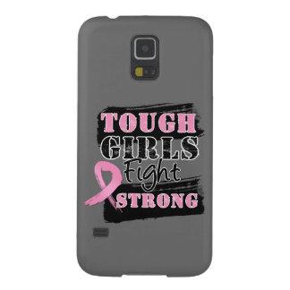 Los chicas duros del cáncer de pecho luchan fuerte funda para galaxy s5