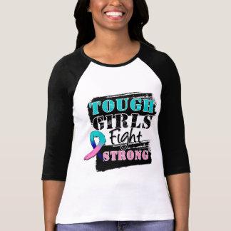 Los chicas duros del cáncer de tiroides luchan fue camiseta