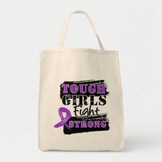 Los chicas duros del cáncer pancreático luchan bolsas de mano