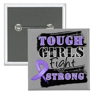 Los chicas duros del linfoma de Hodgkin luchan fue Pins