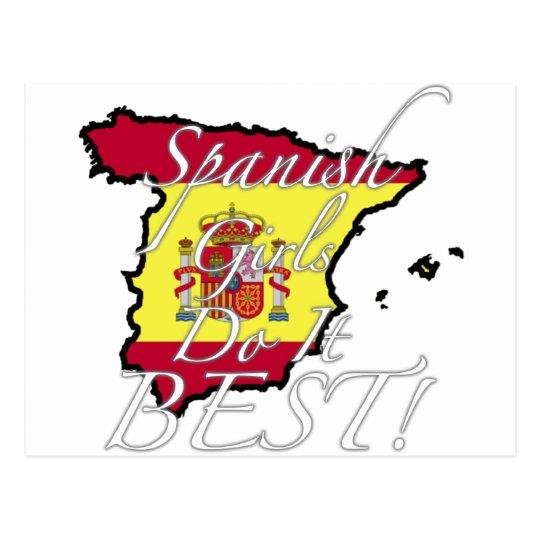 ¡Los chicas españoles lo hacen mejor! Postales
