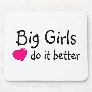 Los chicas grandes mejora tapete de ratones