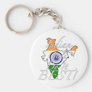 ¡Los chicas indios lo hacen mejor! Llavero Redondo Tipo Pin