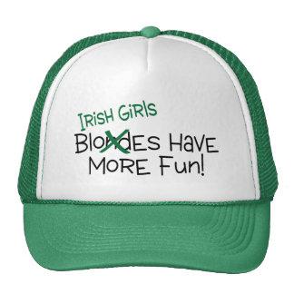 Los chicas irlandeses se divierten más gorras