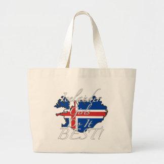 ¡Los chicas islandeses lo hacen mejor! Bolsas