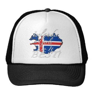 ¡Los chicas islandeses lo hacen mejor! Gorras De Camionero