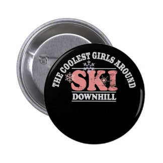 Los chicas más frescos alrededor del esquí cuesta  pin