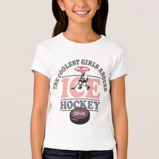 Los chicas más frescos alrededor del hockey sobre remeras