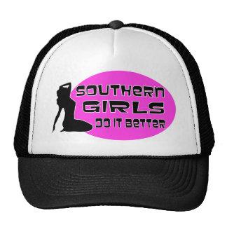 Los chicas meridionales mejora gorras