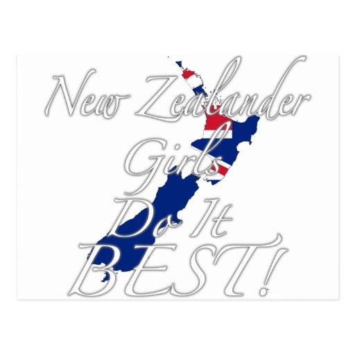 ¡Los chicas neozelandeses lo hacen mejor! Postales