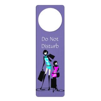 Los chicas no perturban colgador para puerta