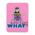¿Los chicas no pueden QUÉ? Batería Imán