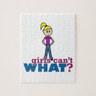 ¿Los chicas no pueden QUÉ? Chica Rompecabeza Con Fotos
