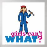 ¿Los chicas no pueden QUÉ? ColorizeME crea para re Poster