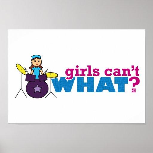 ¿Los chicas no pueden QUÉ? ColorizeME crea para re Posters
