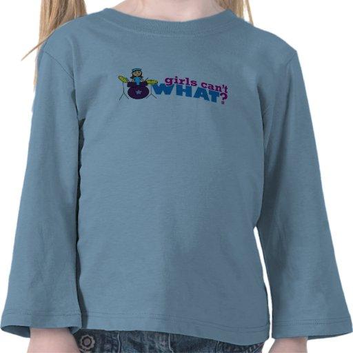 ¿Los chicas no pueden QUÉ? ColorizeME crea para re Camiseta