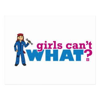 ¿Los chicas no pueden QUÉ? ColorizeME crea para Tarjetas Postales