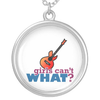 ¿Los chicas no pueden QUÉ? Guitarra Pendiente