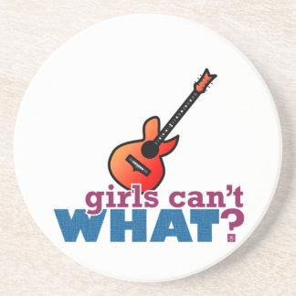 ¿Los chicas no pueden QUÉ? Guitarra Posavasos Manualidades
