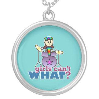 ¿Los chicas no pueden QUÉ? Logotipo del chica del  Grimpolas Personalizadas