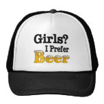 Los chicas prefieren cerveza gorro