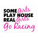 Los chicas reales de la casa del juego de algunos  tarjetas postales
