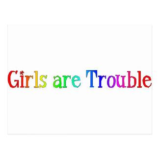 Los chicas son problema postales