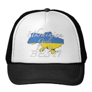 ¡Los chicas ucranianos lo hacen mejor! Gorras De Camionero