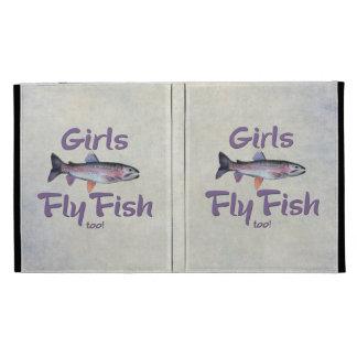 ¡Los chicas vuelan pescados también! Pesca con