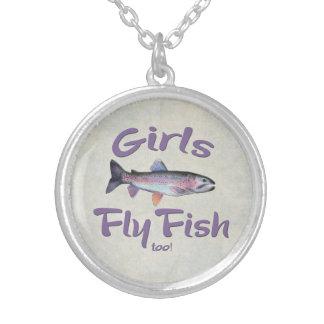 ¡Los chicas vuelan pescados también! Pesca con Colgante Redondo