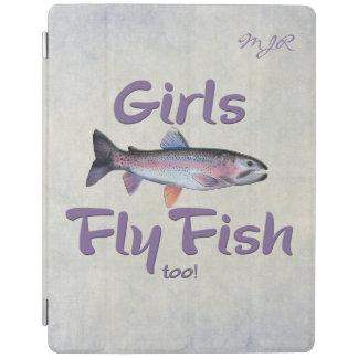 ¡Los chicas vuelan pescados también! Pesca con Cubierta De iPad