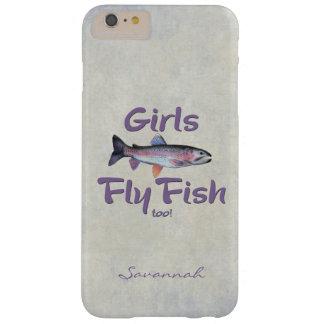 ¡Los chicas vuelan pescados también! Pesca con Funda Barely There iPhone 6 Plus